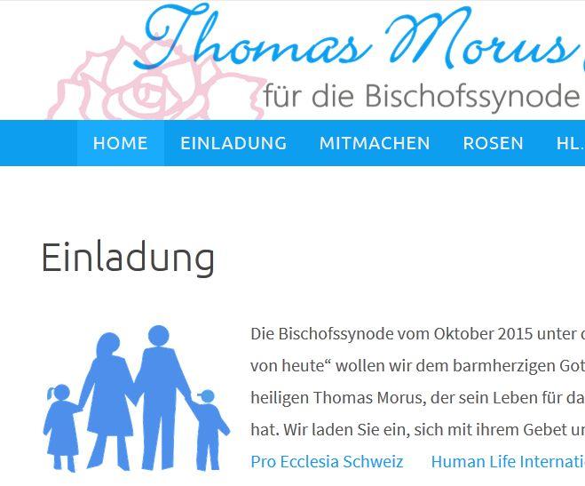 Thomas Morus Gebetsinitative