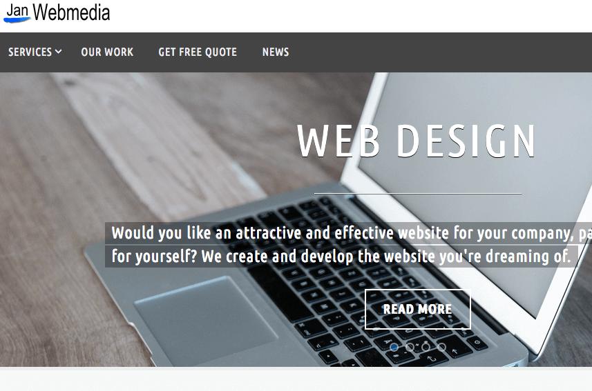 Unsere neue Webseite für England Our new website for the UK https://janwebmedia.uk/ Jan Webmedia, Jan Webmedien, Jan und Bernice Zieba