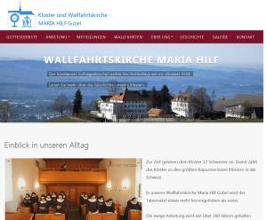 Kloster und Wallfahrtskirche Maria Hilf, Gubel